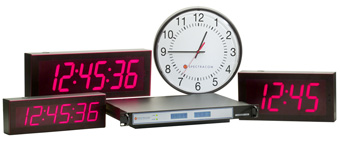 Synchronized Clocks & Time Displays